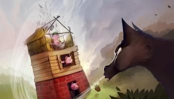 Purple games - 3 petits cochons