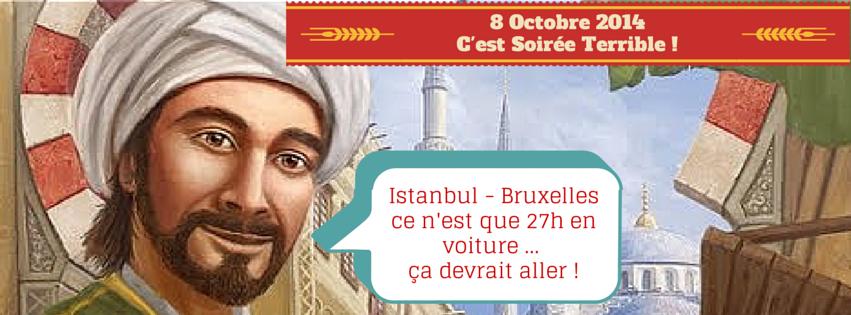 Istanbul - Bruxelles ce n'est que 27h en (1)