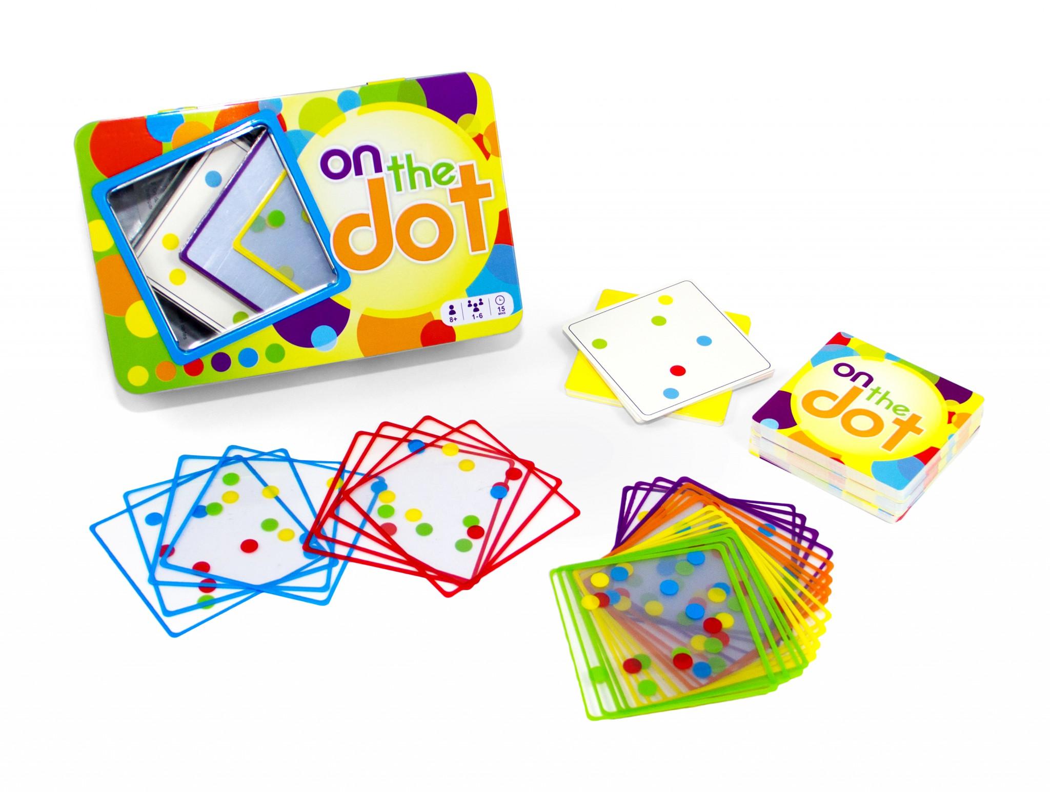 On the Dot le premier jeu publié de Dominique Bodin